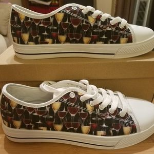 Shoes - Hand painted sneakers